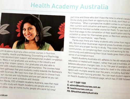 Featured in Health and Wellbeing