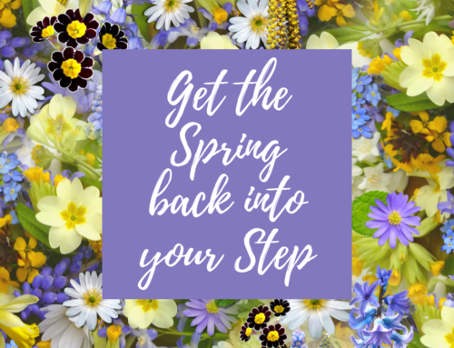 Get that Spring back into your Step!